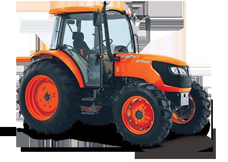 1.M7040DHC Cab 450 Kubota M6040/M7040/M8540/M9540 Series Diesel Tractors - 60 - 95 HP Kubota M7040
