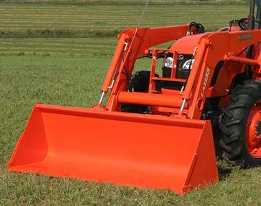 frontendloader2 Kubota M6040/M7040/M8540/M9540 Series Diesel Tractors - 60 - 95 HP Kubota M7040