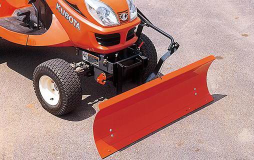 kubota gr2120 mower attachments