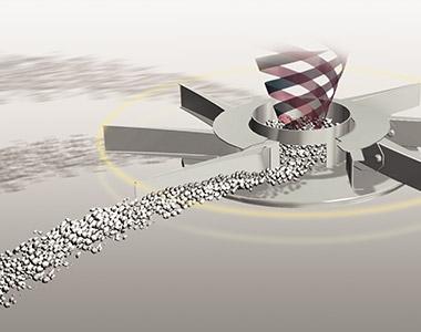 RotaFlow Spreading System 1 Kubota DSM SERIES Medium Spreader
