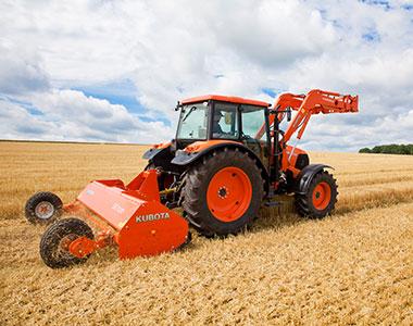 The advantages 10 Kubota SE7000 SERIES Mulcher Cultivator