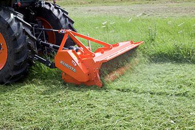 The advantages 5 Kubota SE1000 SERIES Mulcher Cultivator