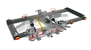 dsm ft weighing system Kubota DSM-W ISO GEO SERIES Medium Spreader
