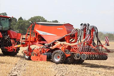 sc ft headland management Kubota SC SERIES Combination Seeders