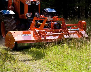se6000 ft advantages Kubota SE6000 SERIES Mulcher Cultivator