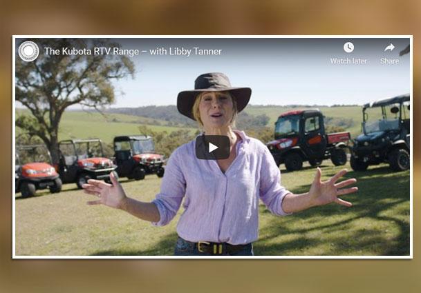Kubota RTV Range Video By Libby Tanner