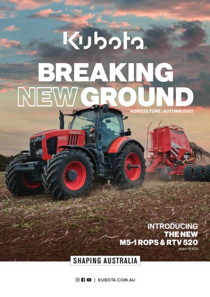 Kubota Catalogue 2021 Ag Cover