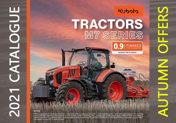 Kubota M7 Series Tractors For Sale