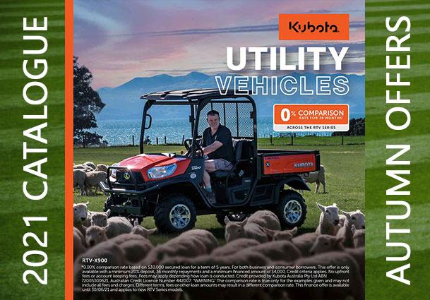 2021 Kubota Utility Vehicles Offer