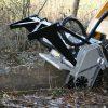 DML/SSL/DML SSL/VT Forestry Mulcher For Skid Steers grinding