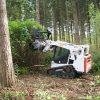 DML/SSL/DML SSL/VT Forestry Mulcher For Skid Steers trees