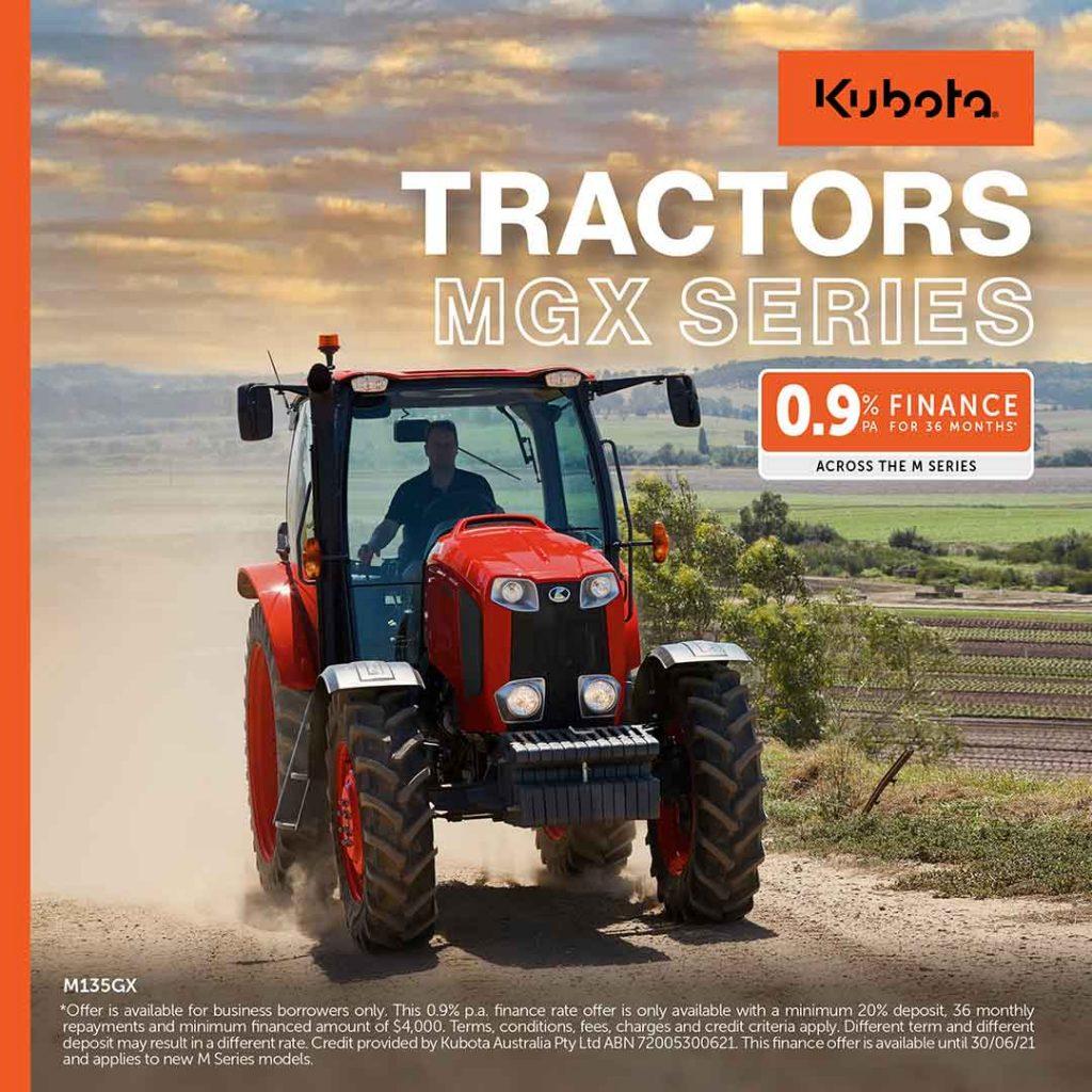 Kubota MGX Series Tractors For Sale