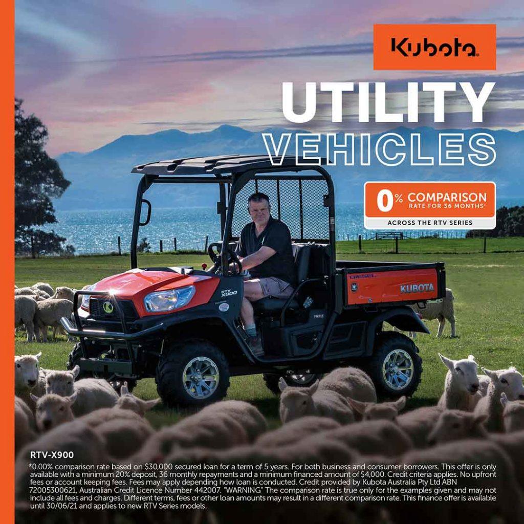 Kubota Utility Vehicles for Sale