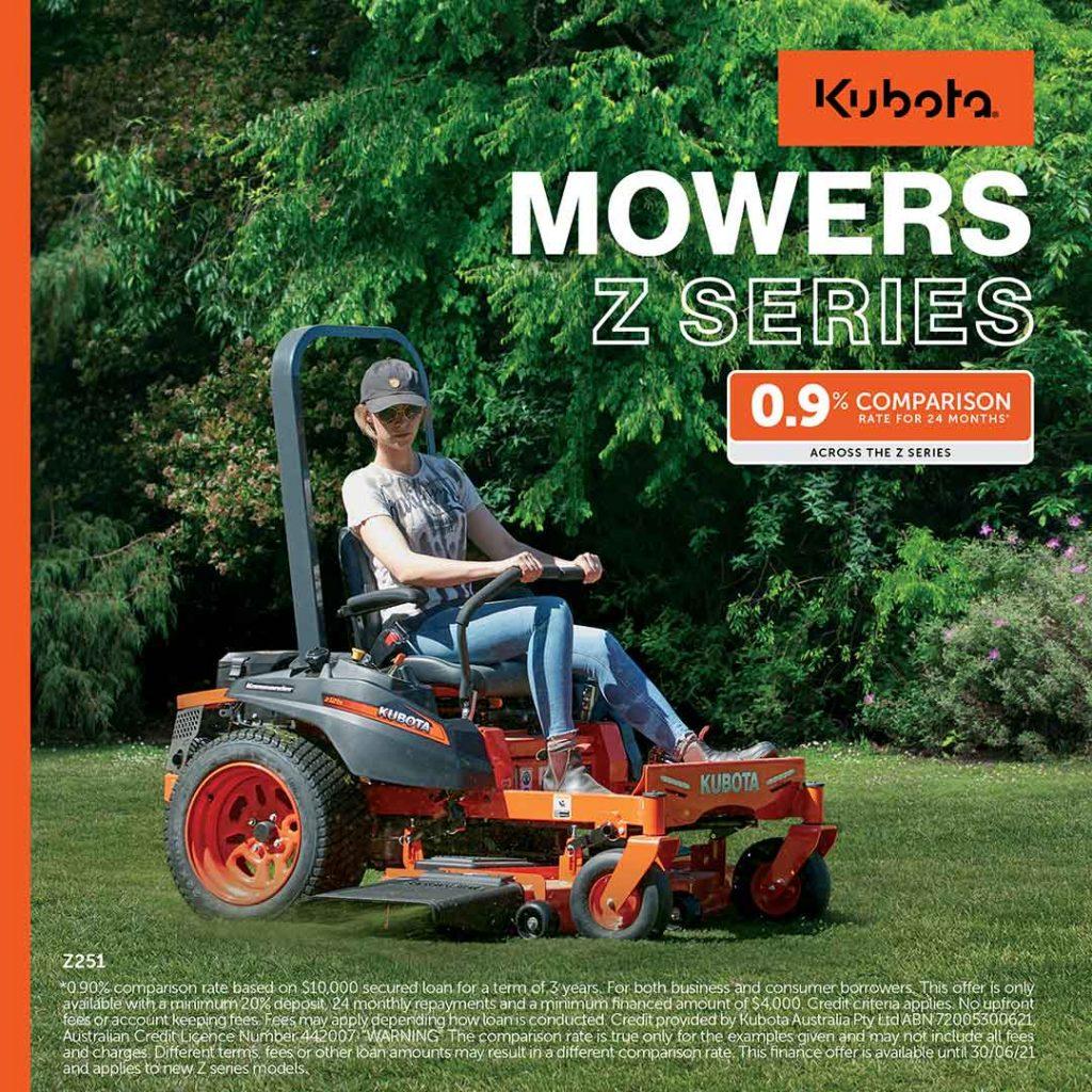 kubota z series mowers zero turn mowers