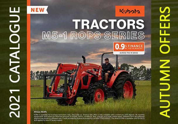 Kubota M5-1 Rops Series Tractors For Sale