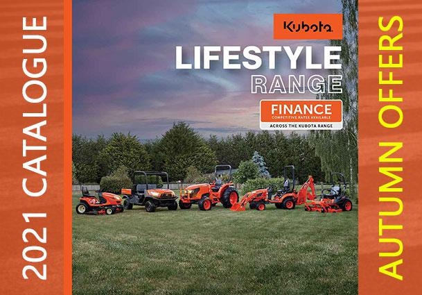 kubota lifestyle range catalogue offers 2021